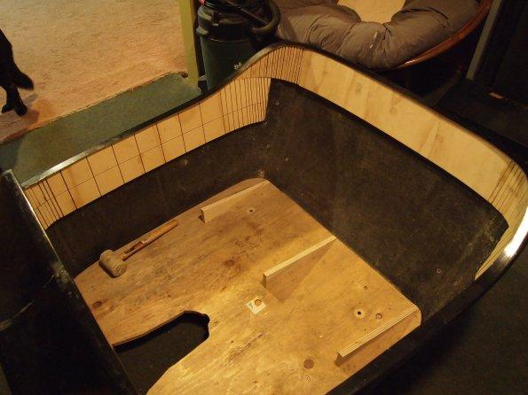 t bucket upholstery bench seat build and door panels ontario rodders. Black Bedroom Furniture Sets. Home Design Ideas