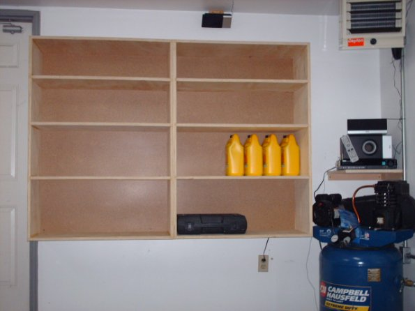 Homemade Garage Cabinet Ideas